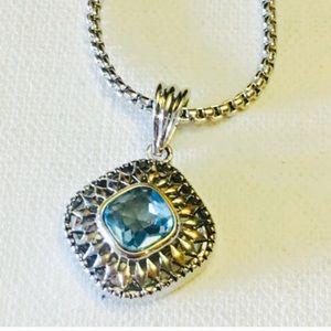 Jewelry - Blue Topaz Necklace